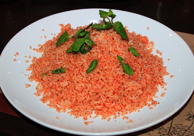 Cơm chiên muối ớt xanh Nha Trang