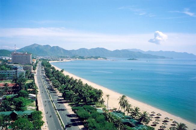 Nha Trang xinh đẹp với bãi biển đẹp