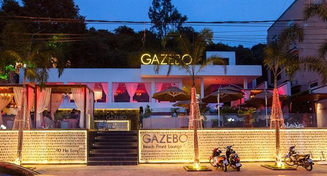 Gazebo với không gian ấm cúng, sang chảnh