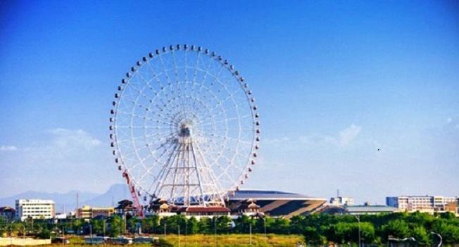 Công viên châu Á được xây dựng phía Đông Nam Đài Tưởng niệm