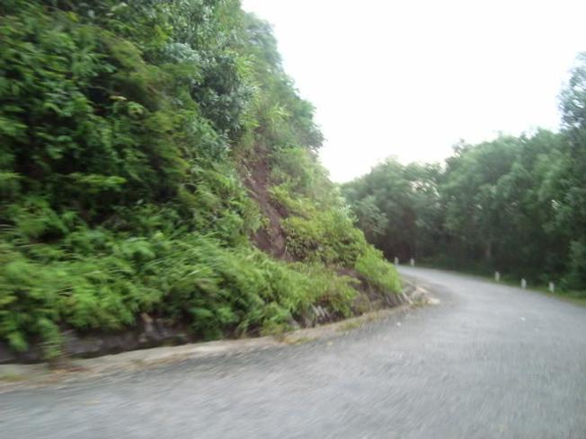 Những con đường núi quanh co