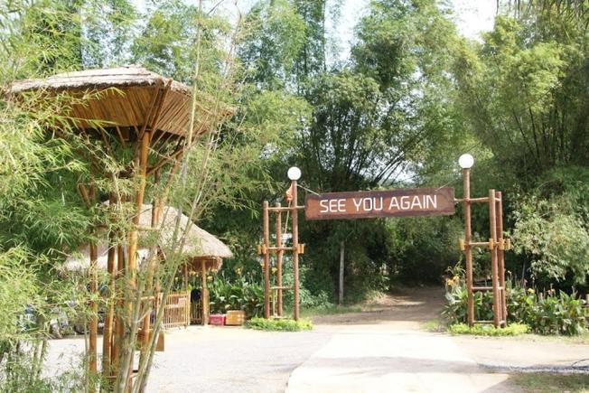 Làng tre địa điểm thăm quan mới ở Nha Trang