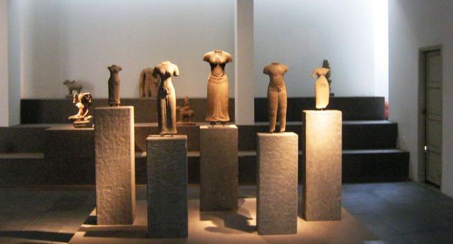 Các hiện vật quý giá được trưng bày ở bảo tàng