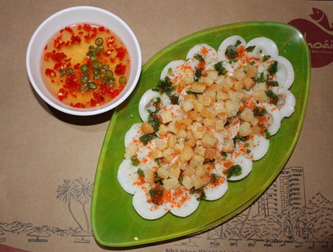 Hấp dẫn các món ăn ngon dân dã đường phố Nha Trang