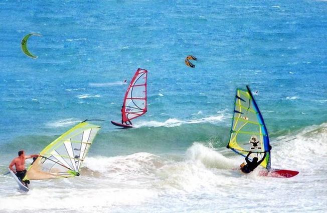 Lướt ván buồm dành cho những ai yêu thích mạo hiểm