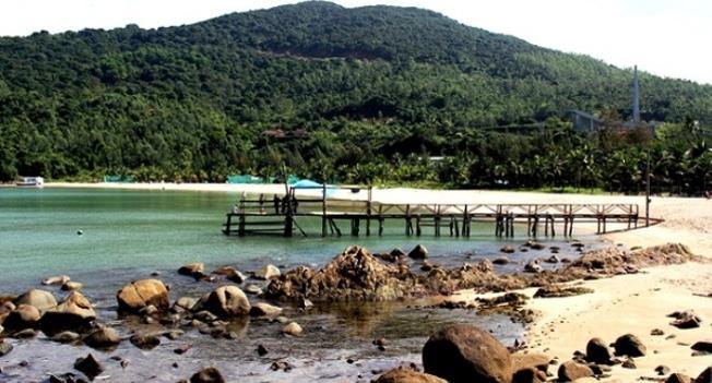 Một góc khu du lịch sinh thái Tiên Sa