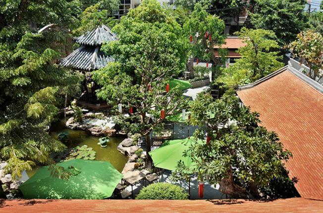 Kiến trúc tổng thể của Trúc Lâm Viên
