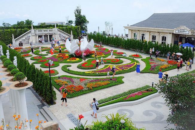 Vườn hoa D'amour nơi diễn ra