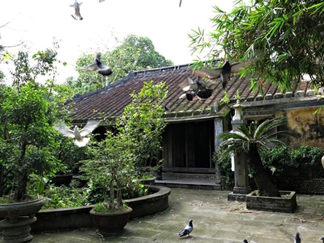 Một ngôi nhà theo kiến trúc xưa