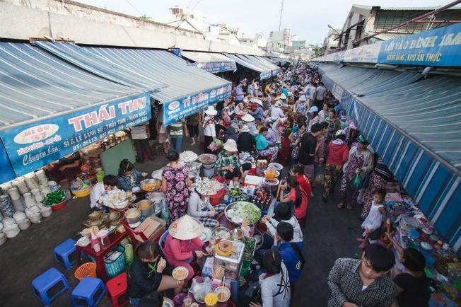 Địa điểm du lịch Đà Nẵng: Khám phá khu chợ Cồn