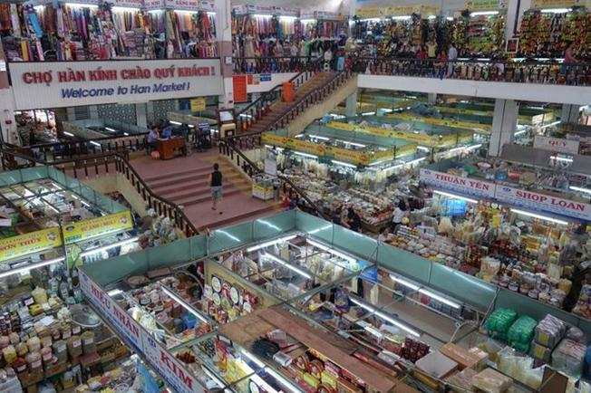 Chợ hàn: điạ điểm du lịch Đà Nẵng 01