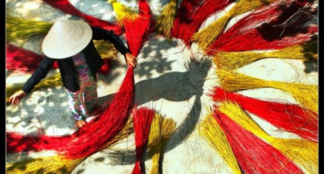 Cẩm Nê rực rỡ màu sắc cói