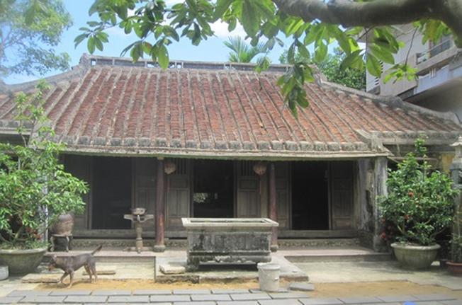 Nhà cổ Tích Thiện Đường đại diện cho những ngôi nhà cổ ở Hòa Vang