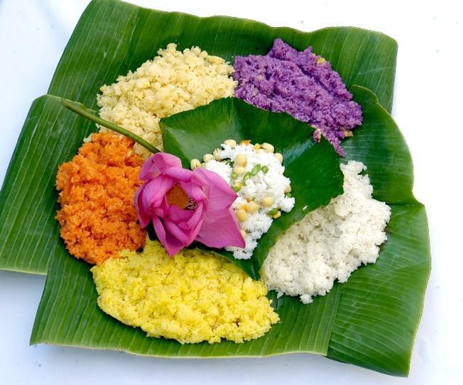 Việt Nam có nhiều loại xôi với đa dạng về màu sắc