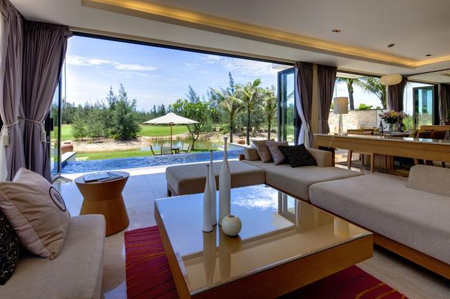 Phòng nghỉ sang trọng tiện nghi tại The Ocean Villas