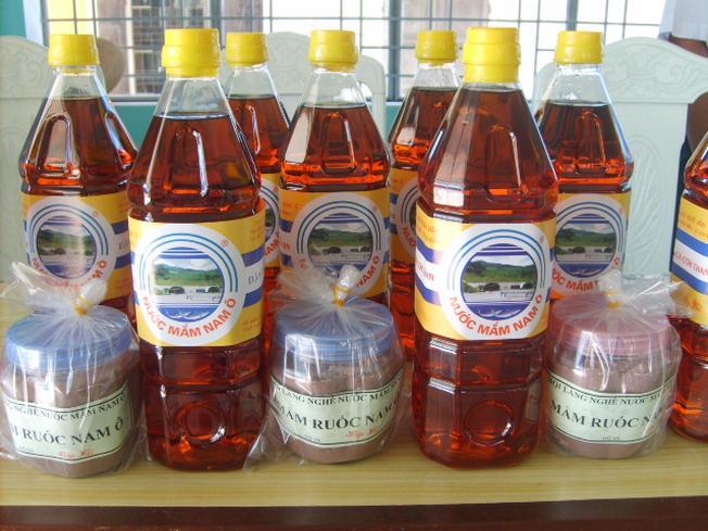 Nước mắm Nam Ô nổi tiếng Đà Nẵng