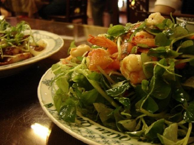 Món ăn từ rau rừng Sơn Trà