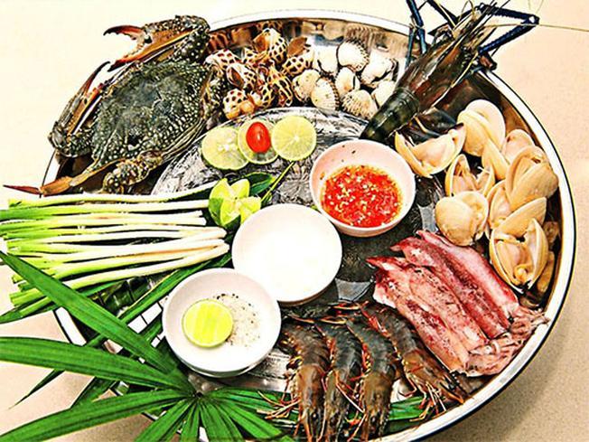 Món ăn hấp dẫn từ  hải sản