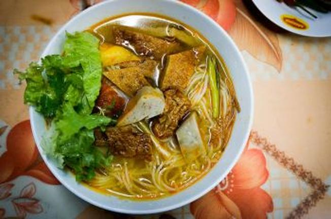 Bún chả cá Đà Nẵng mang hương vị đặc biệt