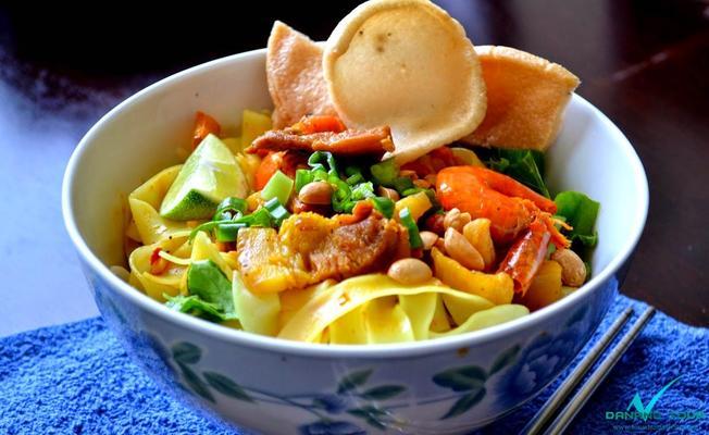 Mì Quảng đặc sản thu hút khách du lịch đến với Đà Nẵng