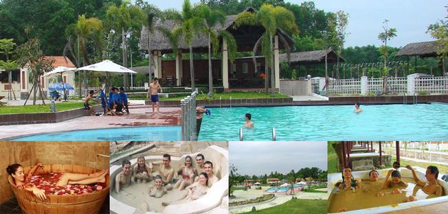 Khu du lịch tắm khoáng nóng Phước Nhơn