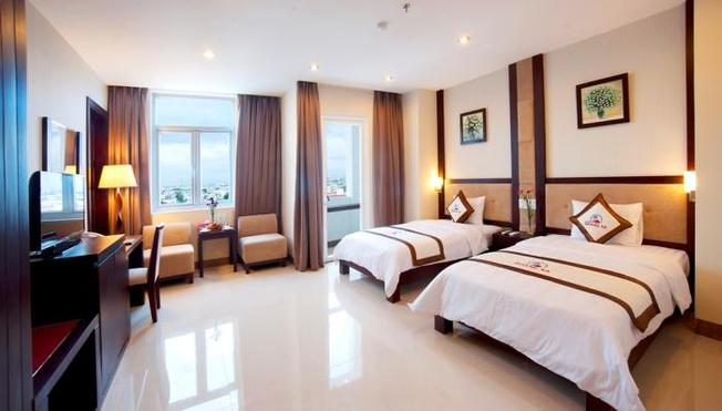 Nội thất sang trọng, tinh tế của khách sạn 4 sao ở Đà Nẵng