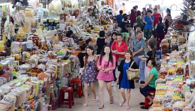 Khu mua sắm sầm uất ở Đà Nẵng