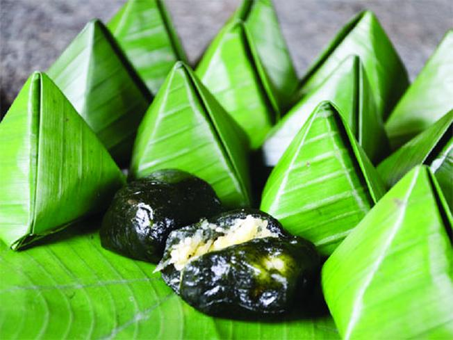 Bánh ít lá gai loại bánh truyền thống của người dân Quảng Nam