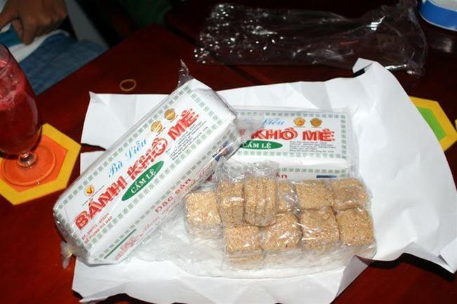Bánh khô mè bà Liễu – quà tặng Đà Nẵng số một