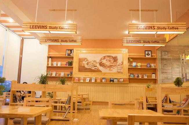 "Leevings Study Coffee – ""văn minh – lịch sự - tri thức"""