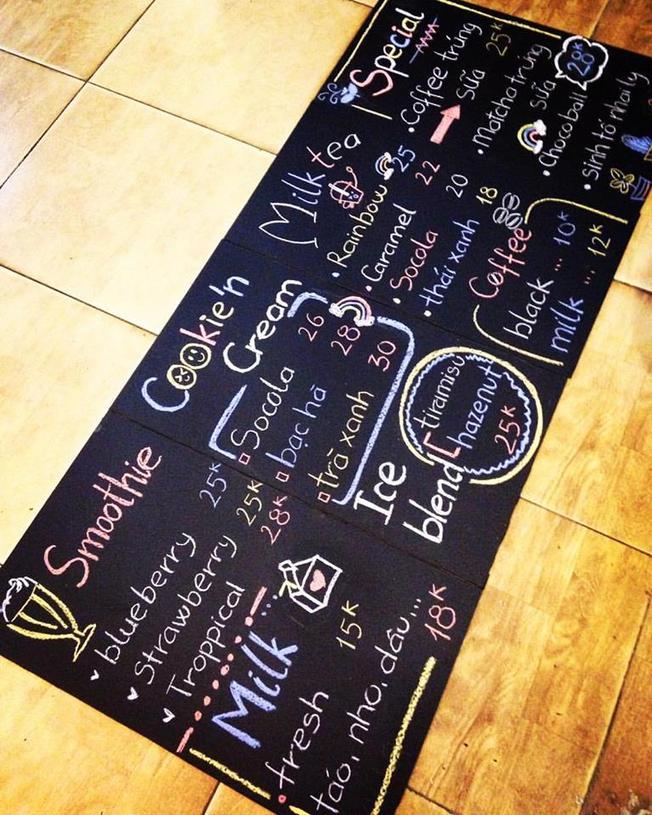 Mia Café mang đến thức uống đa dạng