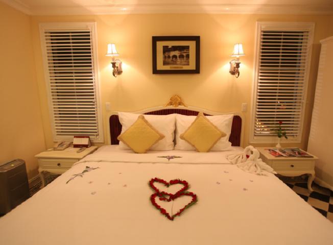 Phòng nghỉ sang trọng của khách sạn ở Bà Nà