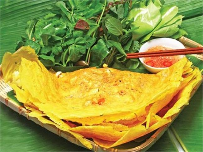Bánh xèo là món ăn Đà Nẵng được nhiều người yêu thích