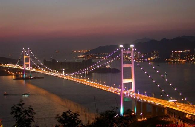 Cầu Thuận Phước Cầu treo dây võng dài nhất Việt Nam