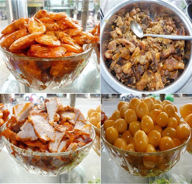 Nguyên liệu của món ăn ngon trứ danh Đà Thành