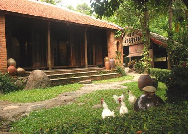 Không gian xưa ngay trong bảo tàng Đồng Đình