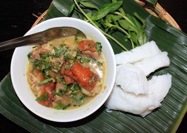 Bún giả cầy mang hương vị Bắc là món ăn ngon ở Đà Nẵng thu hút đông đảo thực khách