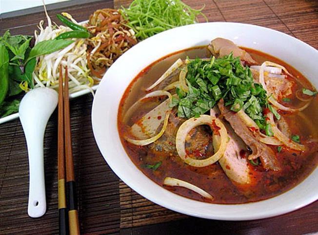 Bún bò Huế đậm đà được lòng nhiều thực khách tại Đà Nẵng