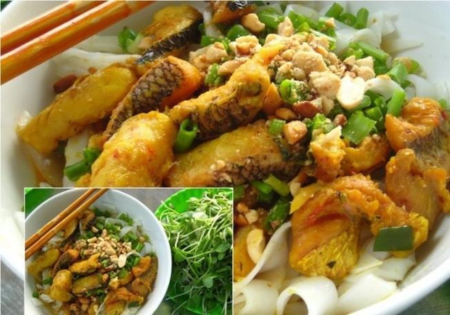 Mỳ Quảng cá lóc là món ngon Đà Nẵng bình dị góp phần làm nên nghệ thuật ẩm thực miền Trung