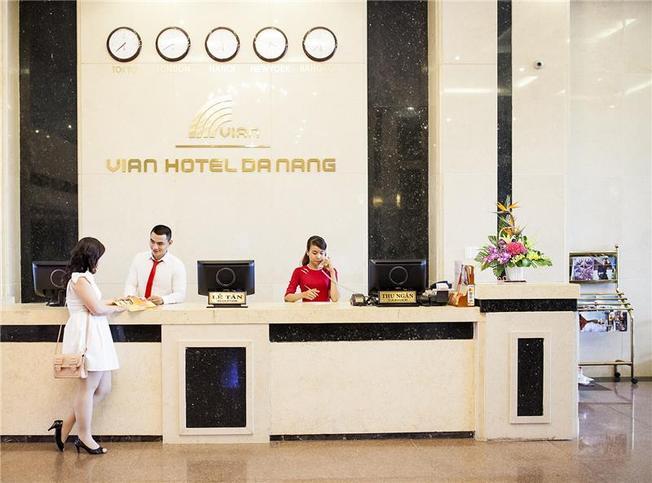 Khách sạn Vian được nhiều khách đi Đà Nẵng tự túc lựa chọn