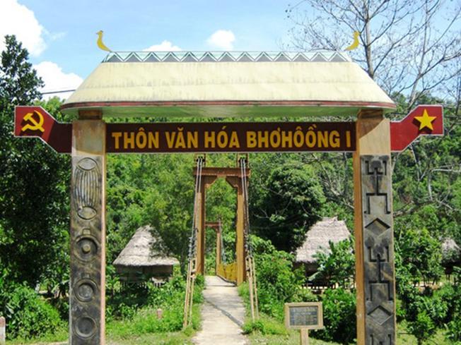 Làng văn hóa – Du lịch Bhờ Hôồng (xã Sông Kôn) địa điểm du lịch Đà Nẵng độc đáo