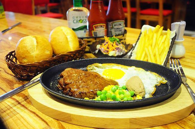 Bít tết : Star Beef thuộc top quán ăn ngon ở Đà Nẵng