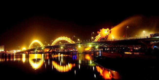 Cầu Rồng cây cầu nổi hiện đại nhất tại thành phố Đà Nẵng
