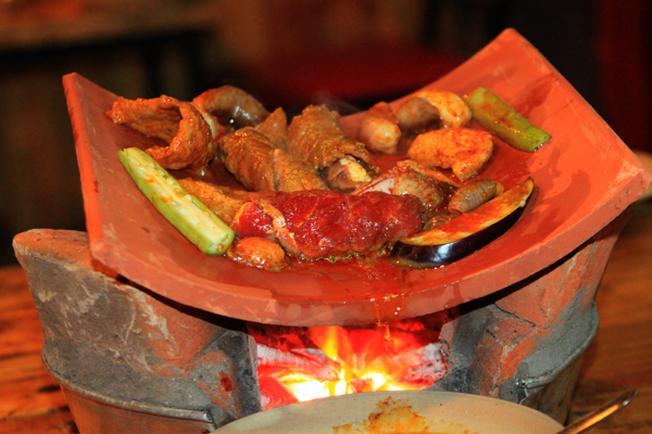 Món nướng đặc sắc tại Làng nướng Minh Anh