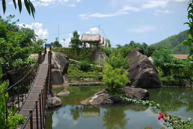 Khu du lịch sinh thái Suối Lương điểm đến hấp dẫn cho mùa hè này