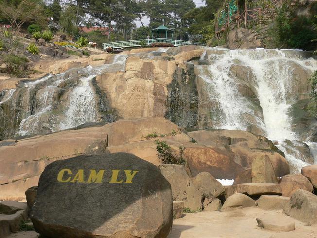Thác Cam Ly một trong những thác nước đẹp nhất ở phía Tây Đà Lạt