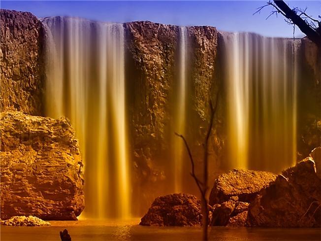 Vẻ đẹp như chốn bồng lai tiên cảnh của thác Bảo Đại