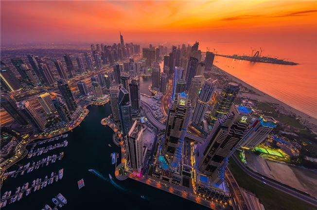 Một buổi chiều ở Dubai