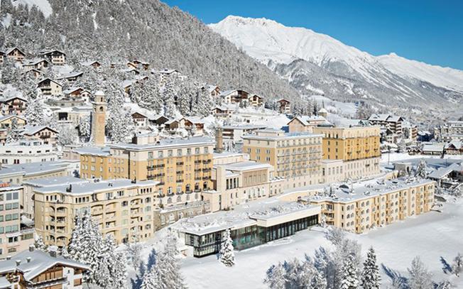 Khách sạn Kulm ở St Moritz