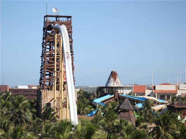 Đường trượt Insano ở Fortaleza